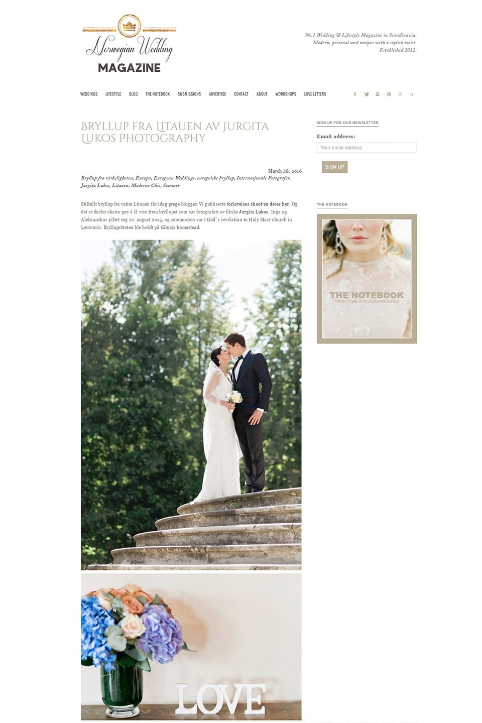 Bryllup fra Litauen av Jurgita Lukos Photography   Norwegian Wedding Magazinefb